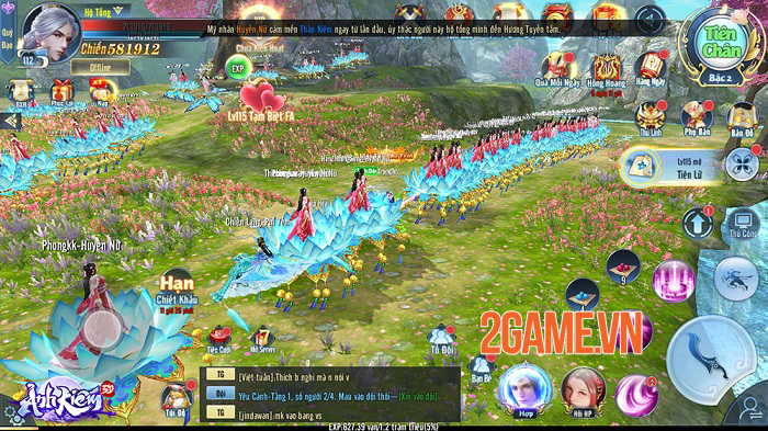 Tặng giftcode chung game Ảnh Kiếm 3D 0