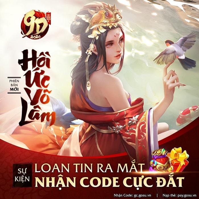 Tặng 200 giftcode game Cửu Dương Truyền Kỳ 1