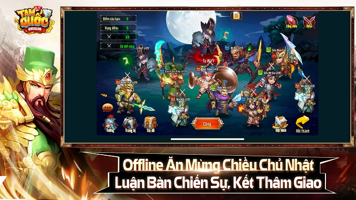 Tặng 308 giftcode game Tam Quốc Origin 4