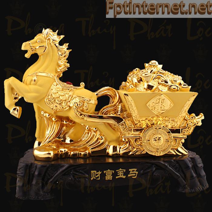 Mơ thấy ngựa vàng có ý nghĩa may mắn sẽ đến với bạn