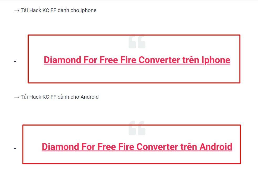 Phần mềm hack kim cương Free Fire