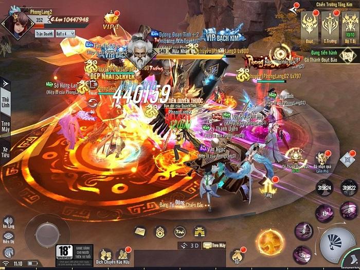 Tặng 500 giftcode game Phong Lăng Thiên Hạ GAMOTA 0