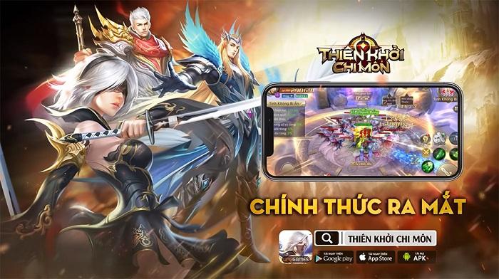 Tặng 500 giftcode game Thiên Khởi Chi Môn VNG 1